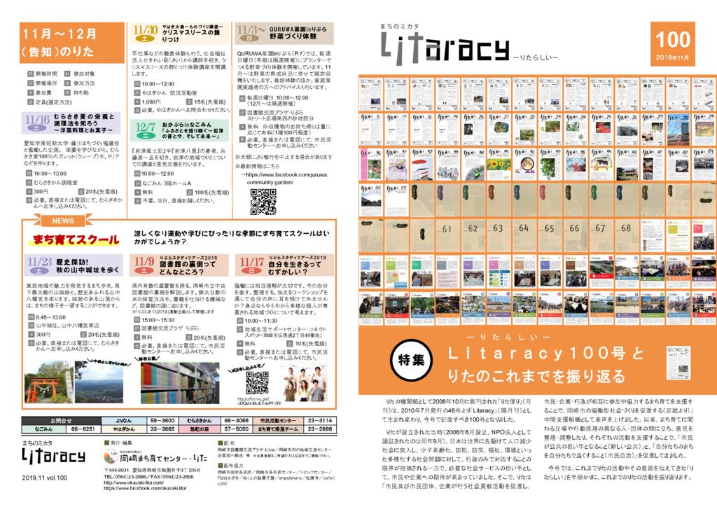 Litaracy vol.100