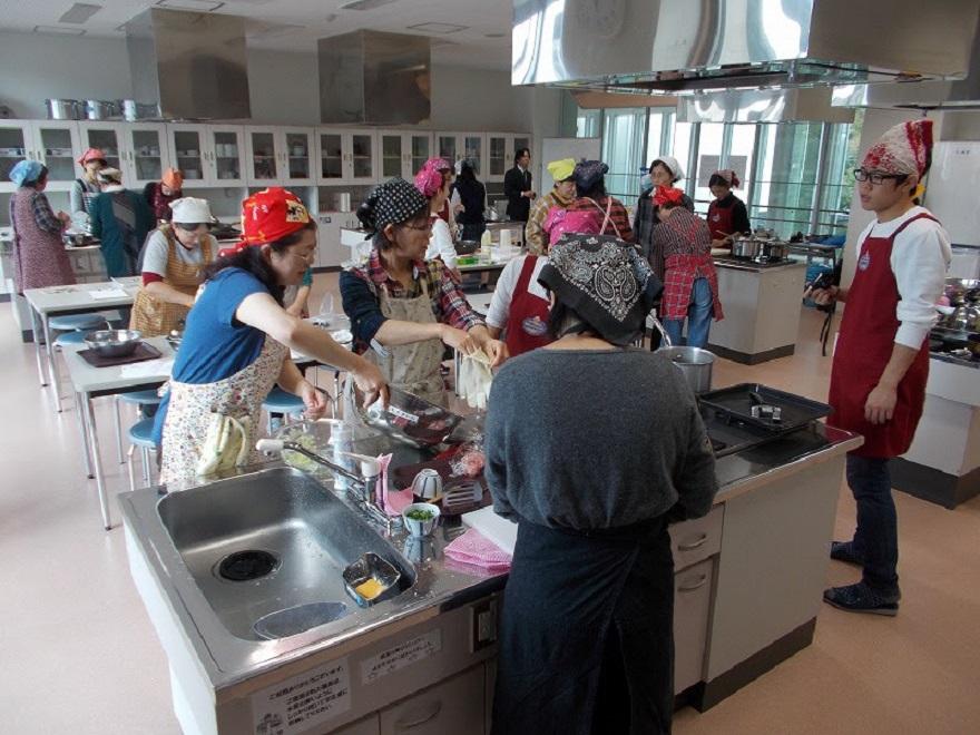 むらさき麦の料理教室