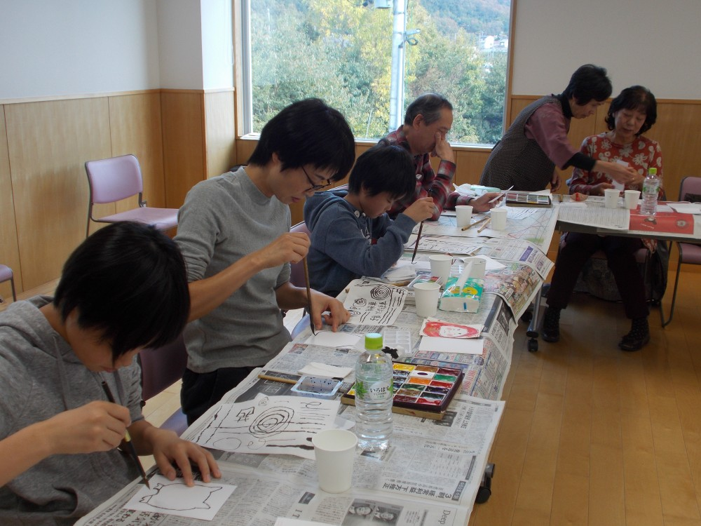 絵手紙体験教室